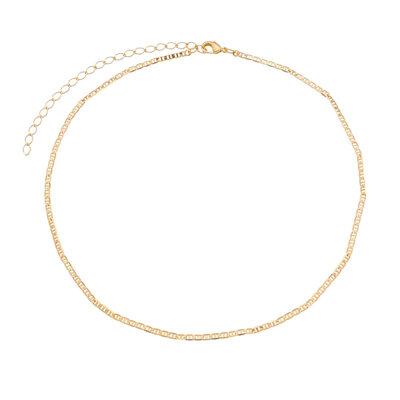 Choker Piastrine Delicada Ouro18k