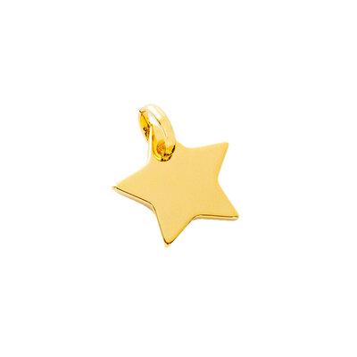 Pingente Estrela Ouro18k