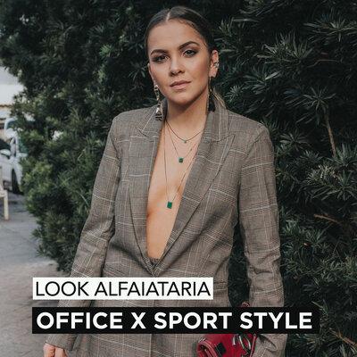 LOOK ALFAIATARIA OFFICE E SPORT STYLE