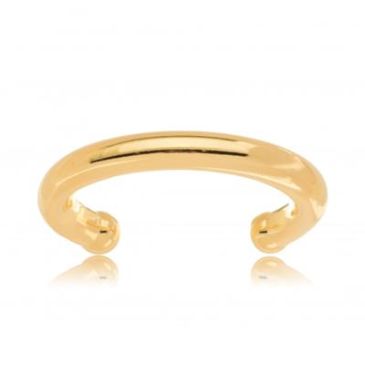Bracelete Tubo Grosso Ouro18k