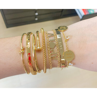 Bracelete inspired classico ouro18k