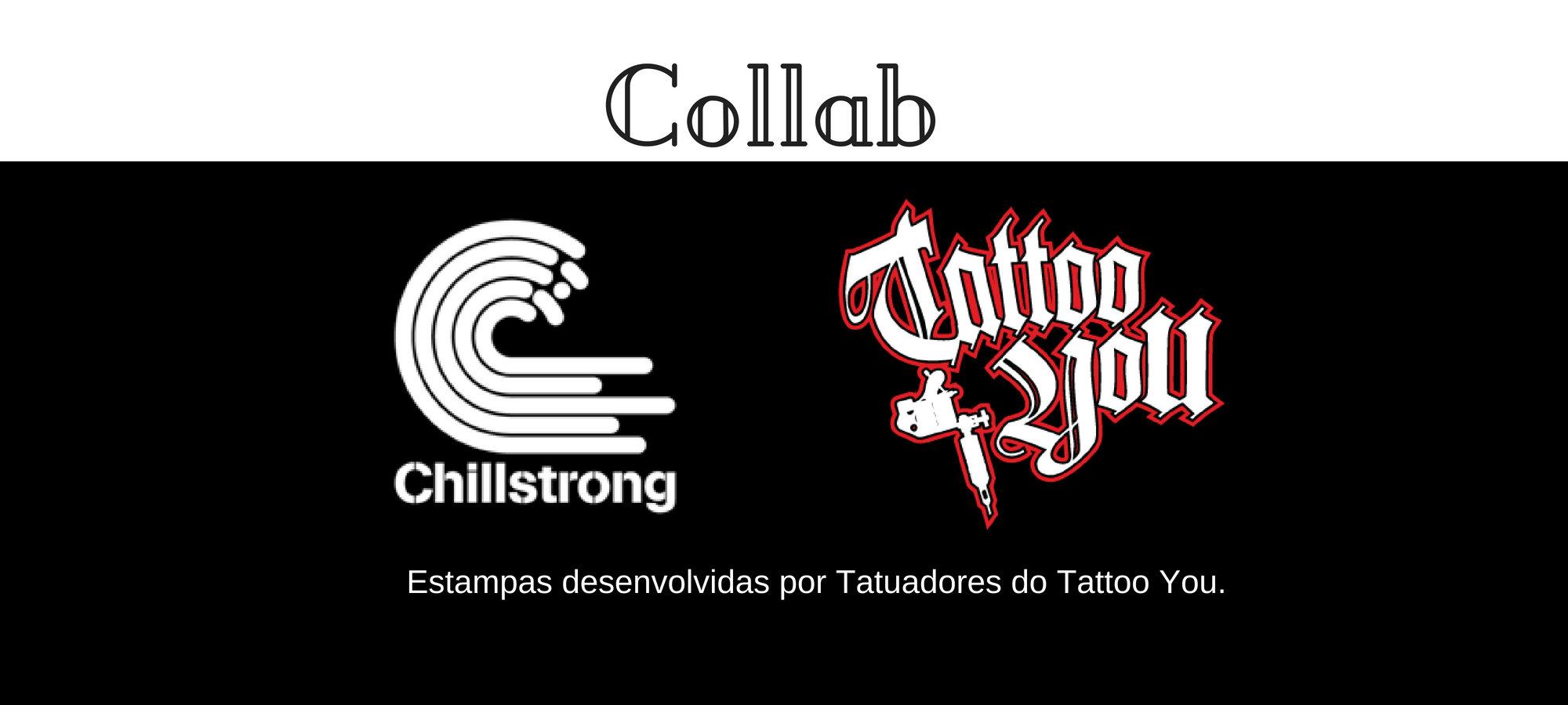 Collab com estampas desenvolvidas por Tatuadores do Tattoo You