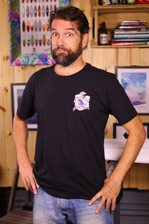 T-shirt Surf Ranch Série Ao Fundo