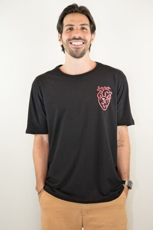 T-shirt Surfer Heart Marcello Serpa