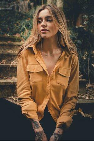 Camisa Mostarda Women