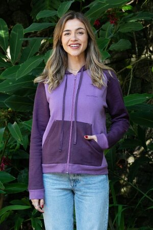 Moletom Feminino Shades of Purple