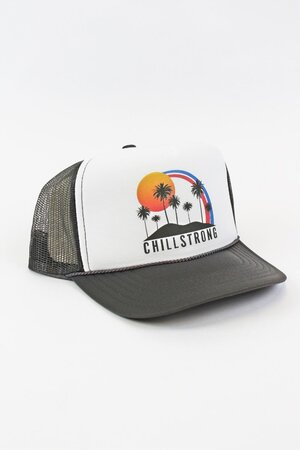 Boné Trucker Palm Tree Grey