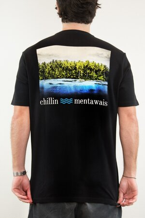T-shirt Chillin Mentawais - Henrique Pinguim
