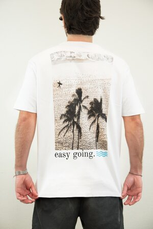 T-shirt Easy Going - Henrique Pinguim