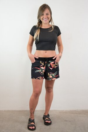 Shorts Moletom Floral W