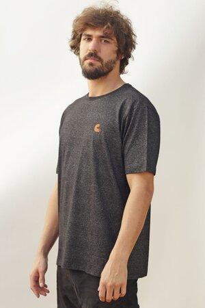 T-shirt Singed Black