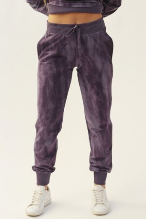 Calça de Moletom Purple Tie Dye Womens