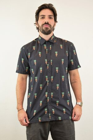 Camisa Pineapple Skull