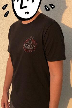 T-shirt Suadinho Bordada Black