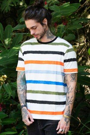 T-shirt Colors Stripes