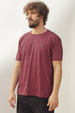 T-shirt Singed Bordeaux