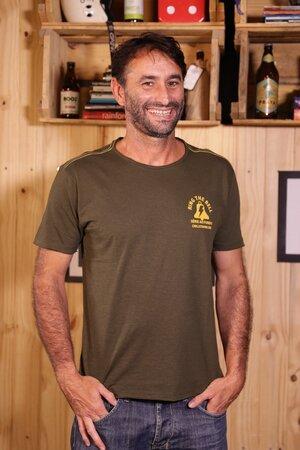 T-shirt Bells Beach Série Ao Fundo