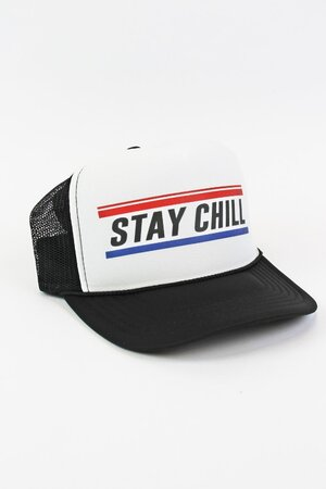 Boné Trucker Stay Chill Black