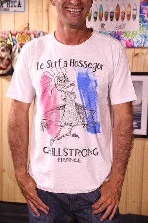 T-shirt Hossegor France Série Ao Fundo