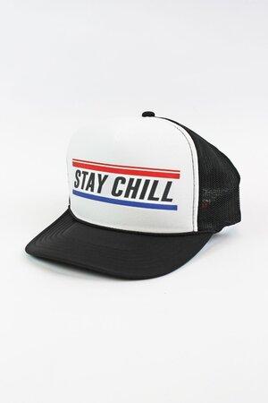 Boné Trucker Stay Chill Black