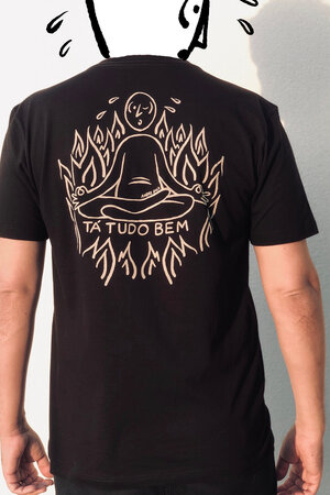 T-shirt Suadinho Silk Black
