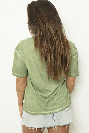 Tee Leash Green