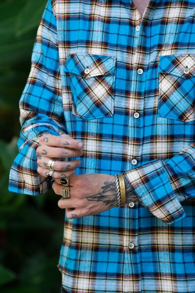 Camisa Masculina Xadrez Royal
