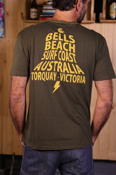 T-shirt Bells Beach Série Ao Fundo 2019