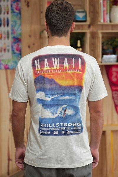 T-shirt Hawaii Série ao Fundo 2020