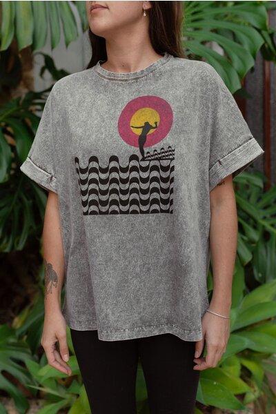 T-shirt Rio Stoned Feminina Marcello Serpa