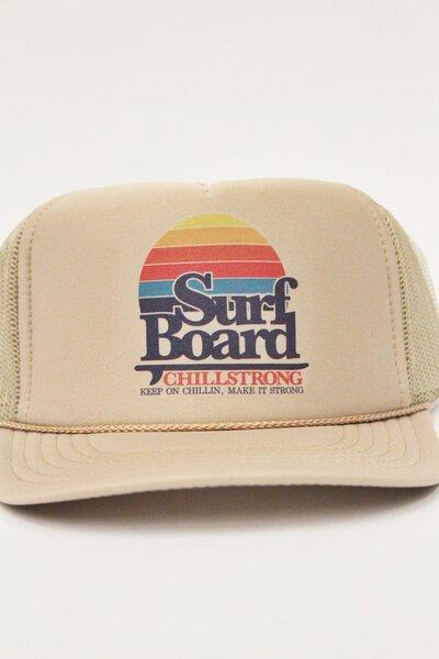 Boné Trucker Surfboard Sand
