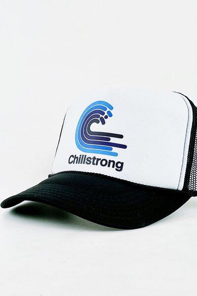 Boné Trucker Chillstrong Classic Black