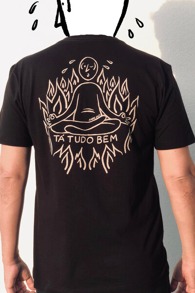 T-shirt Suadinho Silk Black