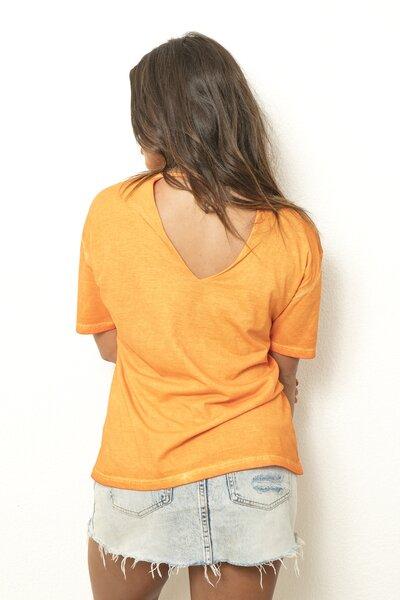 Tee Leash Orange