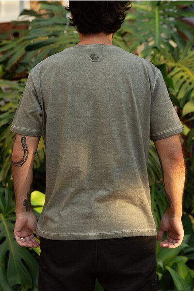 T-shirt 2050 Green Stoned