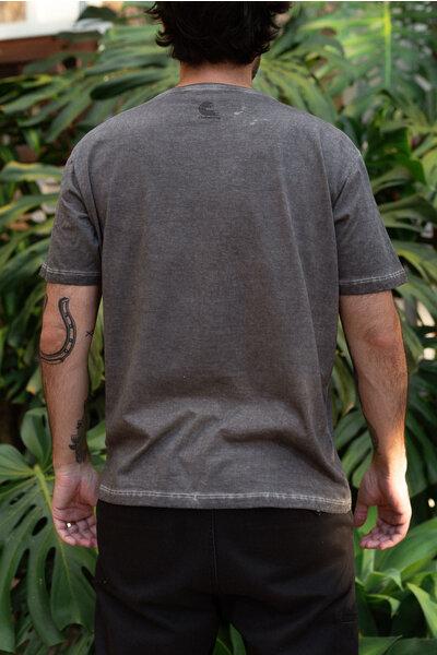 T-shirt HERO Grey & Orange