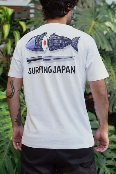 T-shirt Surfing Japan Marcello Serpa