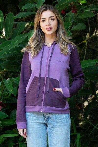Moletom Feminino Shades of Purple