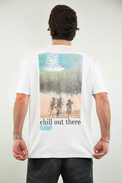T-shirt Chill Out There - Henrique Pinguim