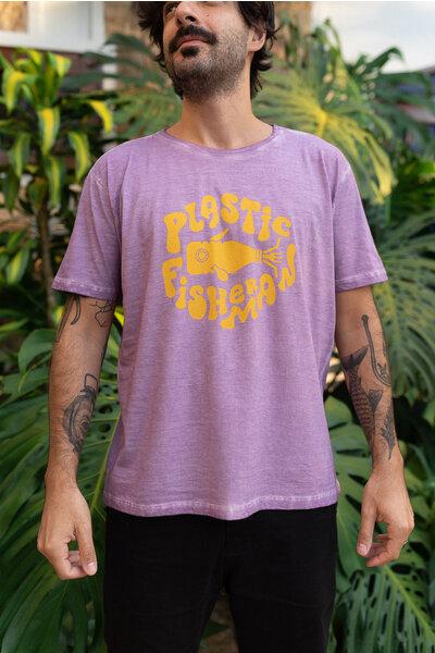 T-shirt HERO Purple & Yellow
