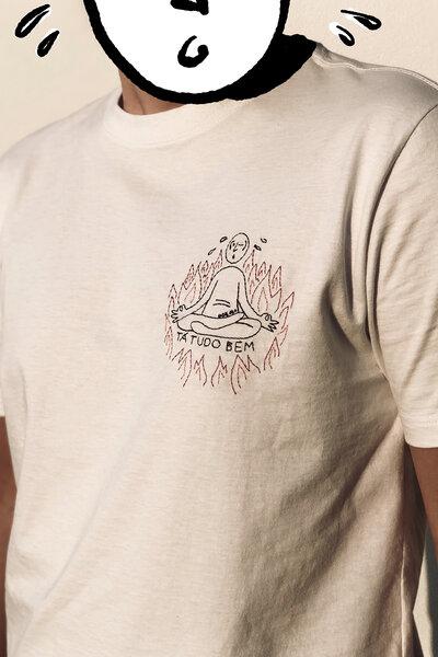 T-shirt Suadinho Bordada White