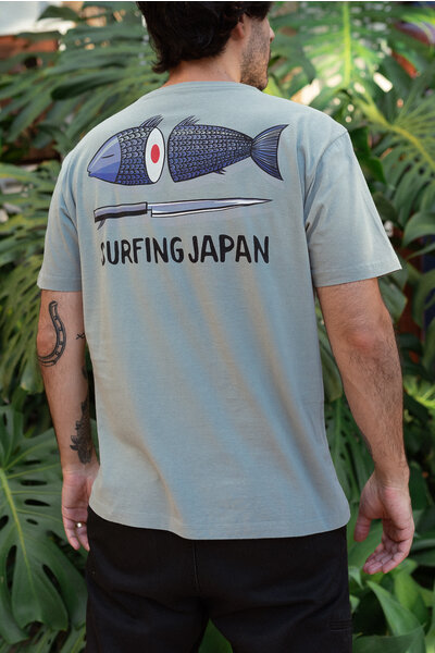T-shirt Surfing Japan Marcello Serpa Stoned