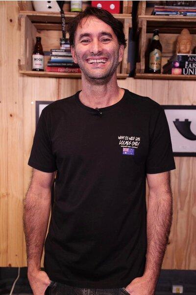 T-shirt Margaret River Série Ao Fundo 2019