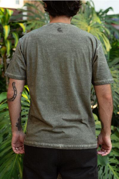 T-shirt HERO Green & Orange
