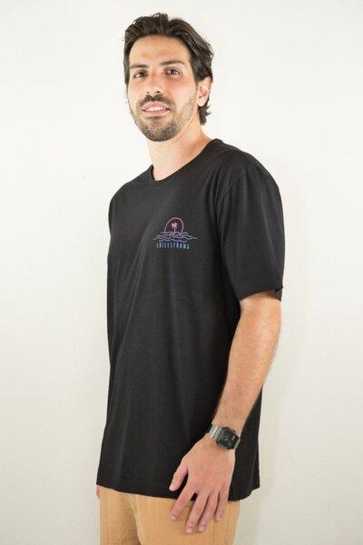 T-shirt Keep On Black