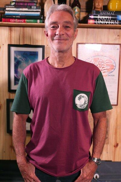 T-shirt Peniche Portugal Série ao Fundo