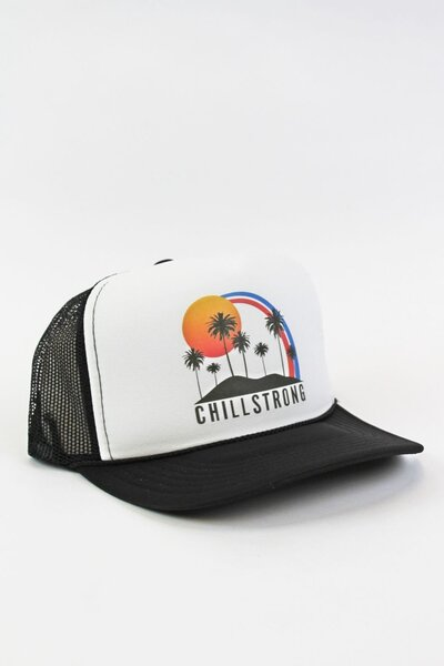 Boné Trucker Palm Tree Black