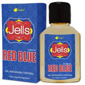 Gel Beijável para Sexo Oral Jells com Aroma de Essência Red Blue 30 ml