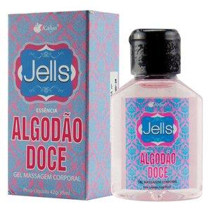 Gel Beijável Jells Algodão Doce 30 ml