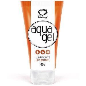 Lubrificante Beijável Hot Aqua Gel 60 g